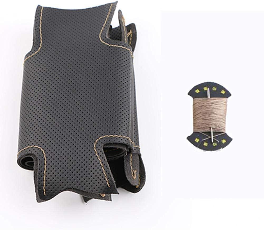 Artificial Leather car Steering Wheel auto Max 70% OFF tee Custom Popular popular Made Braid