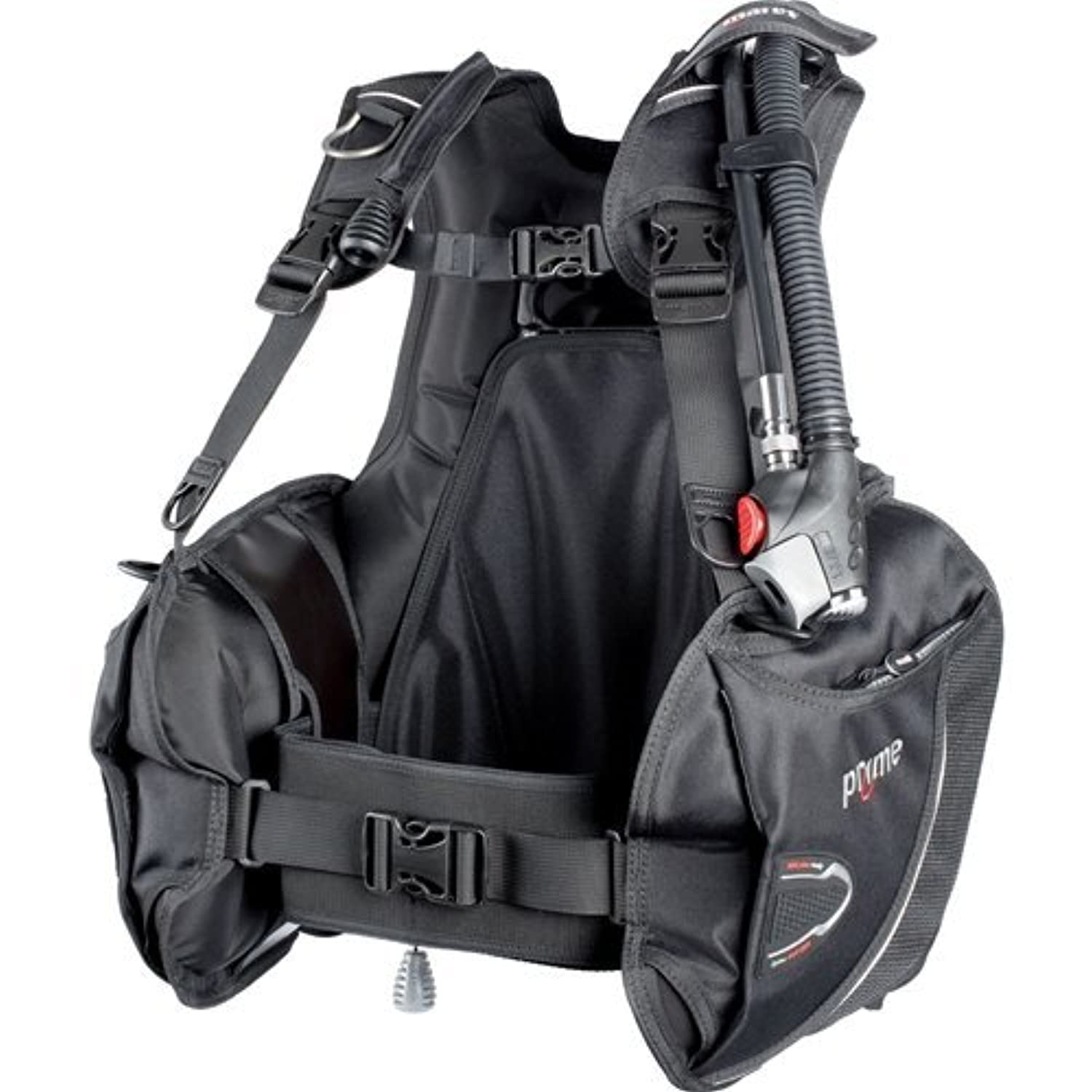 Mares Prime BCD With MRS Weight Pockets (Black X-Large) [並行輸入品]