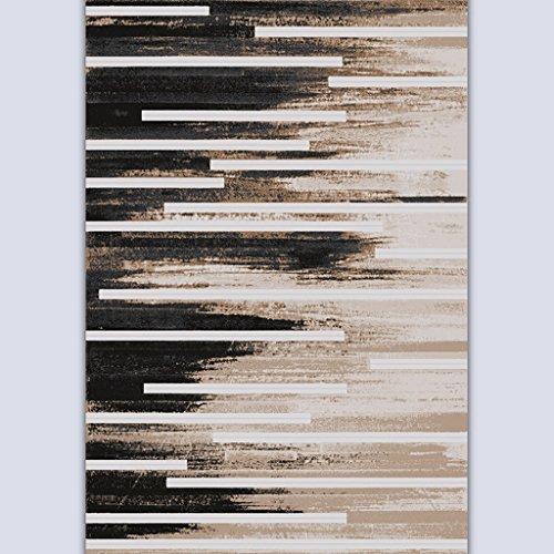ASL Art Ink Painting Mash Up Tapis Simple Table basse moderne Salon Chambre Étude Sofa Processus plus épais Soften Mats sos (Couleur : #2, taille : 120 * 170CM)