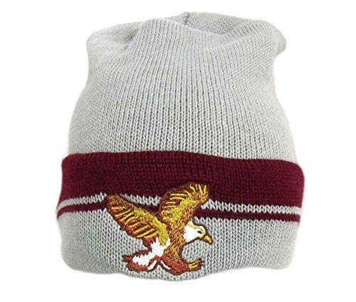 Hancock Beanie Hat Will Smith John Superhero Movie Ski Knit Costume Eagle Gray
