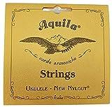 Juego de Cuerdas para Ukele Concerto AQUILA 55U New Nilgut con Mejor Sonido y mas Duración en SOL DO MI LA. Hechas en Italia - Rockmusic España