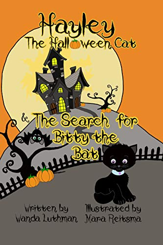 Hayley the Halloween Cat and The Search for Bitty the Bat (English Edition)