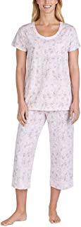 Women's 2 Piece Capri Pajama Set