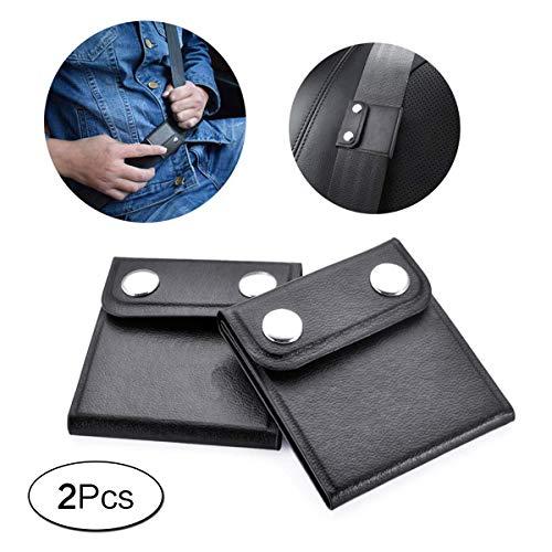 Sicherheitsgurt Einsteller 2 Pack Auto Gurtversteller Komfort Universal Sicherheitsgurteinsteller Relaxen des Schulterhalses Verriegelungsclips