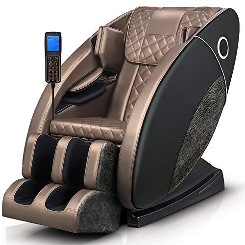 Smart Home Luxury Massage Stuhl, Ganzkörper Multi-Funktions-elektrische Massage Sofa, Massage-Körper und Fuß-Massagesessel
