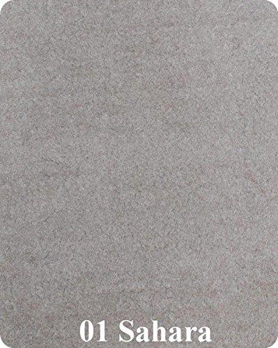 16 Oz Cutpile Boat Carpet - 6' Wide / 12 Colors (Tan, 6x16)