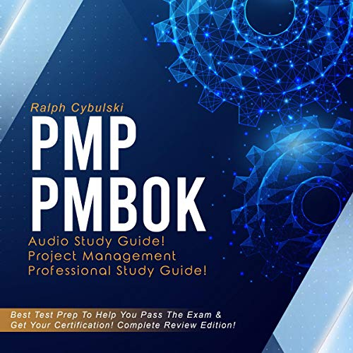 PMP PMBOK Audio Study Guide! audiobook cover art