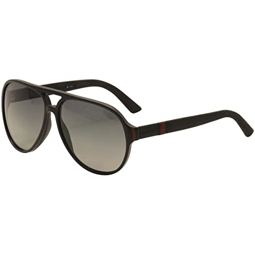 063ec799990 Gucci Unisex Adult Aviator Sunglasses in Blue Rubber GG 1065 S 4UV 59