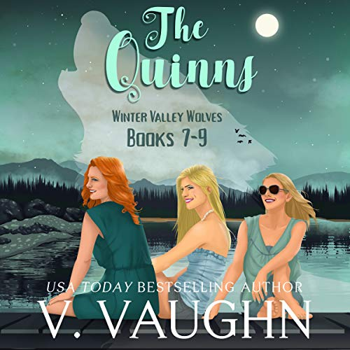 The Quinns - Winter Valley Wolves: Werewolf Romance audiobook cover art