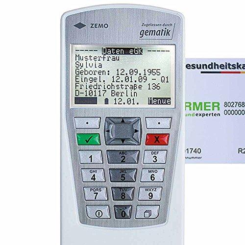 Zemo Mobiles Chipkartenlesegerät VML-GK2, Kartenleser, Krankenversichertenkarten