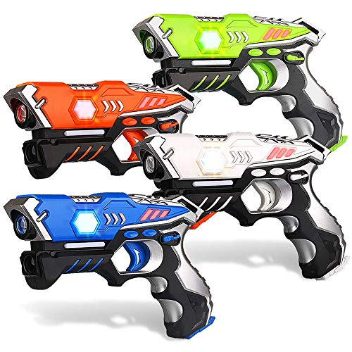 kidpal Infrared Laser Tag, Upgraded Gun Toys for...