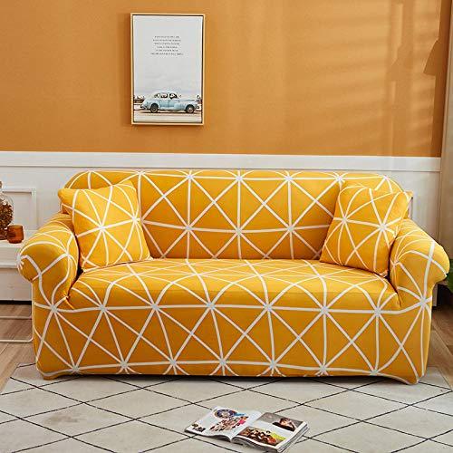 HXTSWGS Funda de sofá Antideslizante,Funda elástica para sofá con Todo Incluido para Muebles de Sala de Estar, Funda para sofá, Funda para sofá de 1/2/3/4 plazas, Color 32_145-185cm