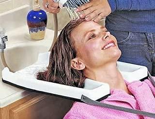 NUMBERNINE, Safety Contoured portable salon home Shampoo hair washing sink tub tray Medical,hair salon
