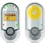 Motorola Baby MBp16 - Vigilabebés Audio Plug-N-Go con Modo Eco y Luz Nocturna, Color Blanco