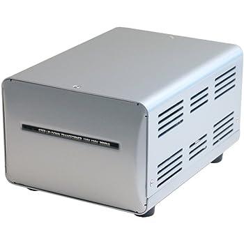カシムラ 海外国内用 変圧器 AC 110V ~ 130V / 2000W 本体電源プラグ Aプラグ , 出力コンセント Aタイプ Voltage Transformer  NTI-150