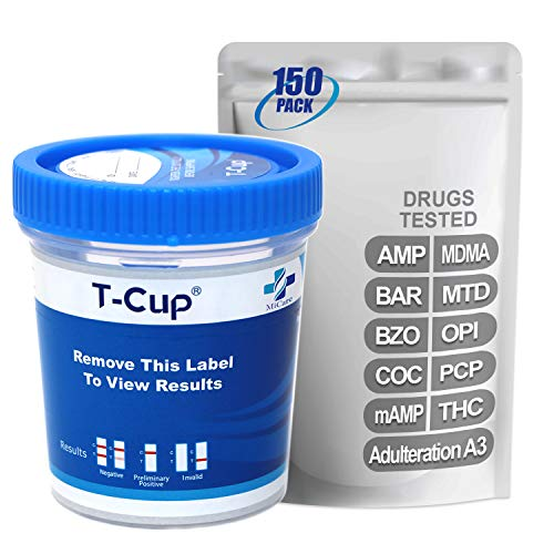 Check Out This MiCare [150pk] - 10-Panel Multi Drug Test Cup (AMP/BAR/BZO/COC/mAMP/MDMA/MTD/OPI/PCP/...