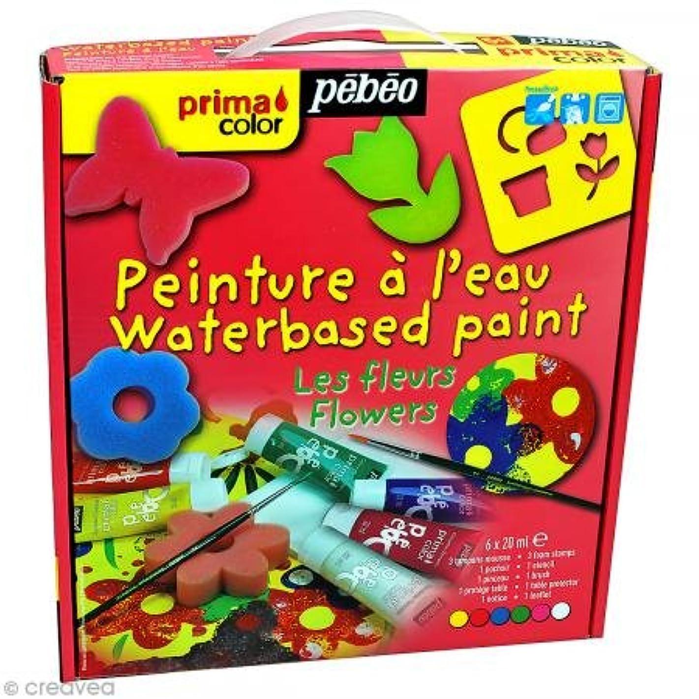 Pebeo Tactilcolor, Finger Paint, Animals Mini Atelier Kit, 6 X 20 ml Tubes