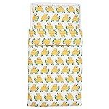 Ikea Rorande Crib Duvet Cover/Pillowcase Turtle Yellow 43x49/14x22 004.625.38