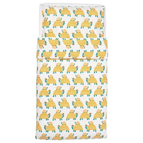 Ikea Rorande - Funda de edredón para cuna (43 x 49 cm), color amarillo