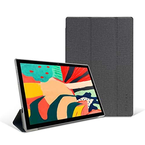 PRITOM 10 Zoll Tablet Case, Stand Folio Universal Tablet Case mit verstellbarem Befestigungsband und Mehreren Betrachtungswinkeln