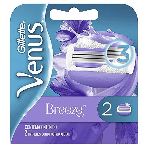Carga Para Aparelho de Depilar Gillette Venus Breeze - 2 Unidades, Gillette