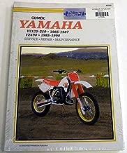 ATV/Moto-X Yamaha Clymer Manual Models YZ 125-250 1985-1987 and YZ490 1985-1990 WSM M390