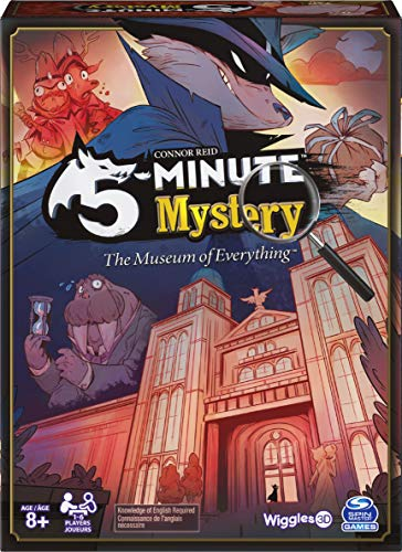 5-Minute Mystery The Museum of Everything Game, for Adults and Kids Ages 8 and up