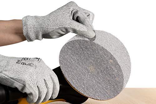 50 MIRKA Abranet Grip Gitternetzstreifen 70 x 198 mm K320 Topqualität