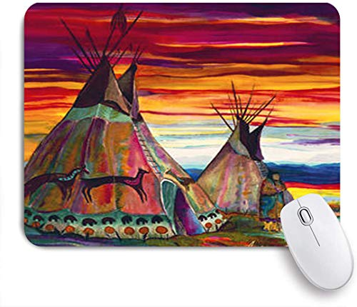 SUHOM Gaming Mouse Pad Rutschfeste Gummibasis,Sommer in den Ebenen anderson r moore,für Computer Laptop Office Desk,240 x 200mm