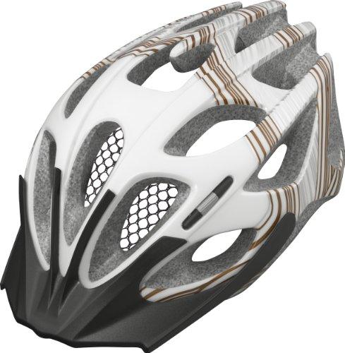 Abus Win-R II - Casco de Ciclismo Blanco Golden Line Talla:Large