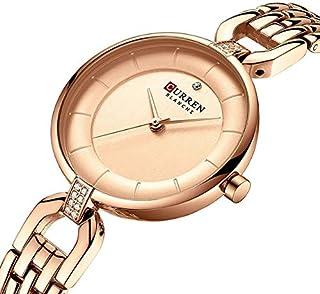 CURREN 9052 Women Japan Quartz Movement Watch Casual Stainless Steel Band Wrist Watch Ladies Fashion Watches