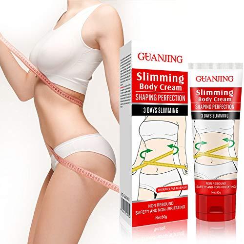 Xnuoyo Anti Cellulite Creme, Aktiviert die Haut Verbesserung der Hautkontur, Hautstraffende Creme für Bauch, Beine, Po, Oberschenkel, Oberarme Schlankmachende Fettverbrennende -80g