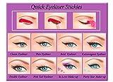 Quick Eyeliner Stickies Juego completo de maquillaje, 80 unidades DE3, 50 g