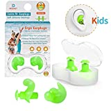 Upgraded Swimming Ear Plugs for Kids, 2 Pairs Waterproof...