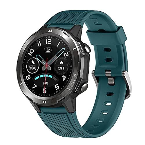 ZGZYL Smart Watch Hombres Mujeres Smartwatch para Android iOS Sport Watch Monitor De Frecuencia Vibración Impermeable IP68 Smart Watch Táctil Cronómetro Ritmo Cardíaco Reloj Inteligente,A