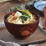 Allegro Huyer Japanese Style Cartoon Totoro Wooden Bowl Cute Creative Children Wooden Bowl Dinner Kitchen Noodle Soup Salad Fruit Bowl-