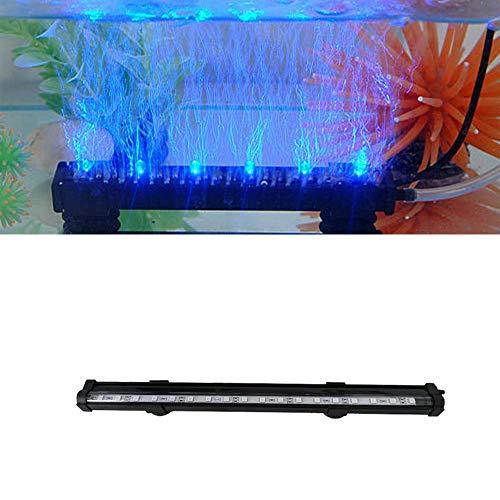 MMJJQWE Lámpara de Burbuja de Aire LED para Tanque de Peces, luz de T