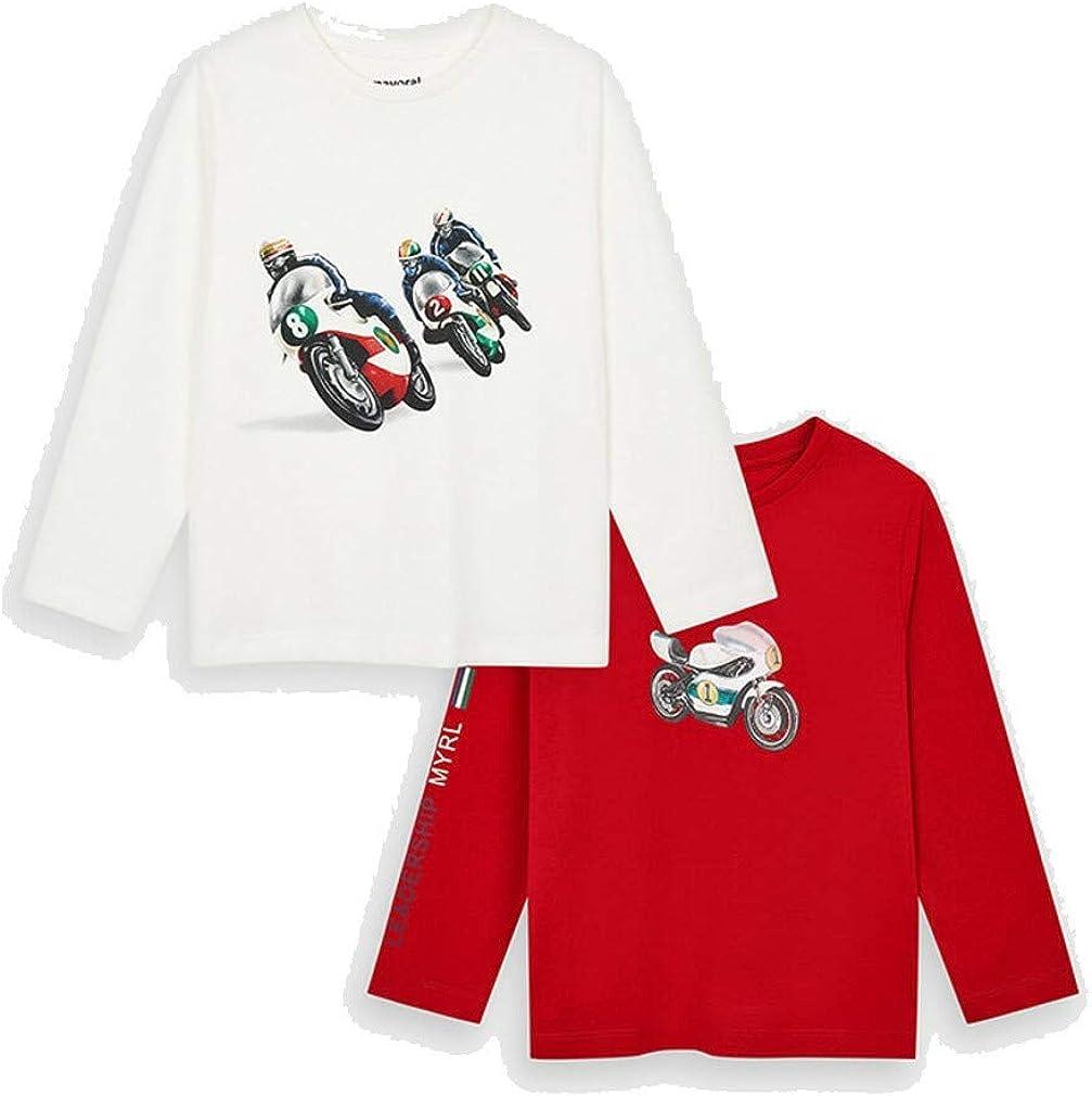 Mayoral Set 2 Camisetas Manga Larga Lisas niño Modelo 4047
