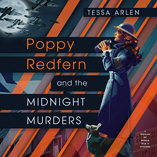 Poppy Redfern and the Midnight Murders audiobook cover art