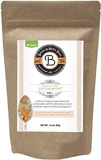 Birds & Bees Teas - Organic Heartburn Relief for Acid Reflux and Pregnancy Heartburn Tea - Lighthearted Tea is a Delicious Natural Remedy for Pregnancy Heartburn Relief, 40 Servings, 3.5 oz