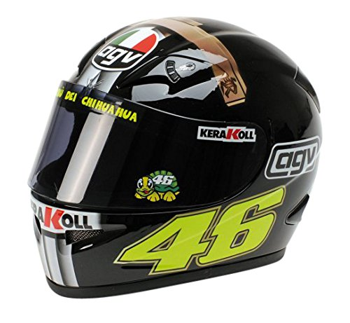 Minichamps 327070046 - 1:2 2007 AGV Helmet Valentino Rossi, Jerez Test Version