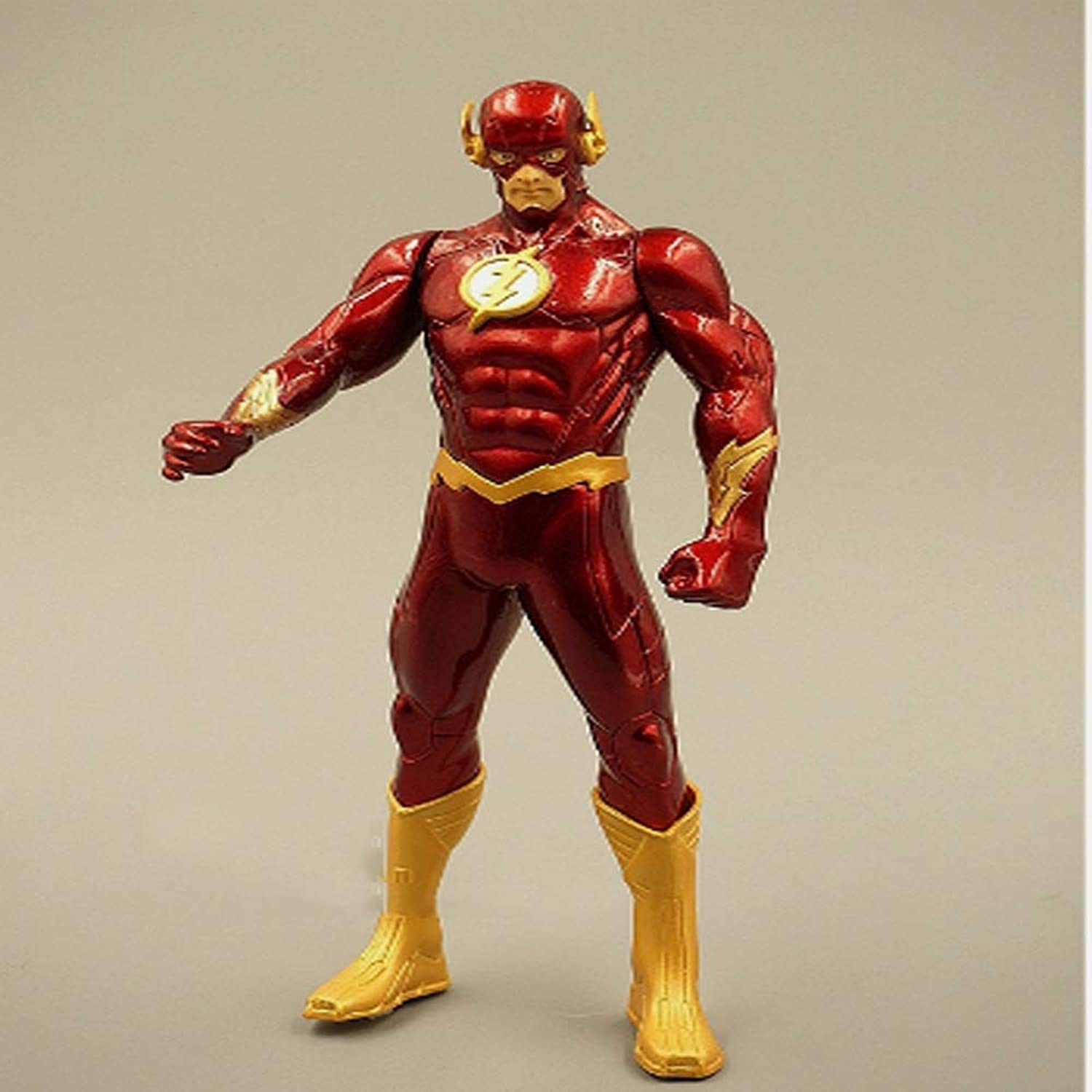 Qivor Foreign trade bulk boxed justice cartoon hero lightning man large doll doll hand model ornaments statue ornaments bust anime decorations