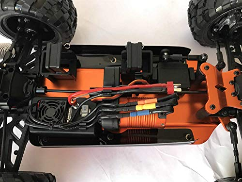 RC Buggy kaufen Buggy Bild 1: DF Models 3009 - Hotfire 5 Buggy - 1:10 Brushless Metallgetriebe RTR-Waterproof*