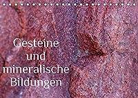 Gesteine und mineralische Bildungen (Tischkalender 2022 DIN A5 quer): Die zauberhafte Welt der Steine und Mineralien (Monatskalender, 14 Seiten )