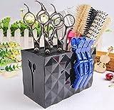 Professional Salon Scissors Holder Rack, Shear Holder,Modern Hairdressing Combs Clips Desk...