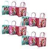 12pc Disney Little Mermaid Ariel Goodie Party Favor Gift Birthday Loot Bags