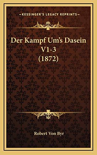 Der Kampf Um's Dasein V1-3 (1872)
