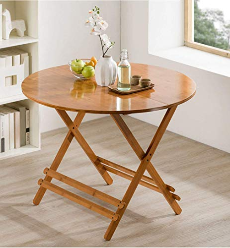 Klapptisch, Esstisch Tragbare Runde Schreibtisch Blumendekoration Tisch Faul Tisch Im Freien Kleintisch Pflanzenbehälter 60 * 60 cm