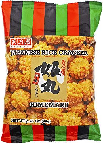 Amanoya Japanese Rice Cracker, 3.45 Ounce (Pack of 20)