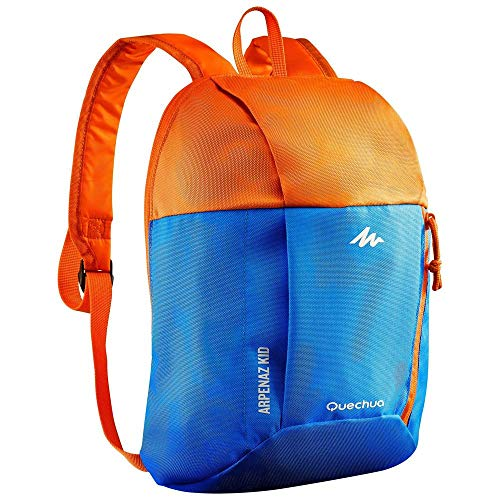 QUECHUA Backpack orange blue